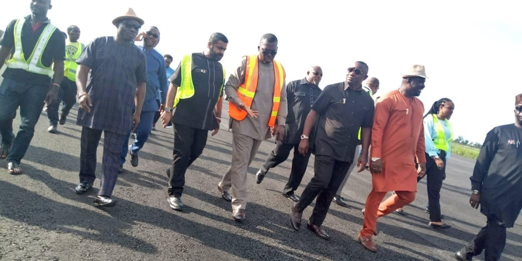 Photo of AKHA CHARGES GITTO CONSTRUCTION COMPANY ON PROMPT DELIVERY OF 2ND RUNWAY PROJECT