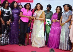 Photo News: Dr. Martha Udom Emmanuel at PINK Awards