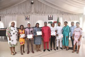 PDP PRESENTS PRIZES TO WINNERS OF THE UMBRELLA BUSINESS QUEST