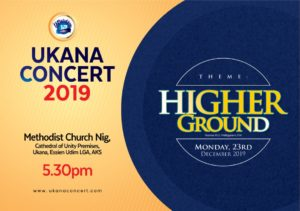 TIM GODFREY, MERCY CHINWO, FREKE UMOH, ORS FOR UKANA CONCERT 2019