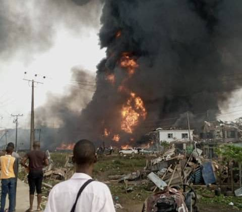 Photo of BREAKING NEWS: Houses Destroyed As Explosion Rocks Lagos.