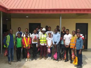 FULL LIFE ACADEMY ON EXCURSION TO HENSEK INTEGRATED SERVICES LIMITED.
