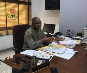 BARR DENNIS CLEARS AIR ON AKWA IBOM HOUSE OF ASSEMBLY'S SUSPENSION OF TWO (2) LG CHAIRMEN.