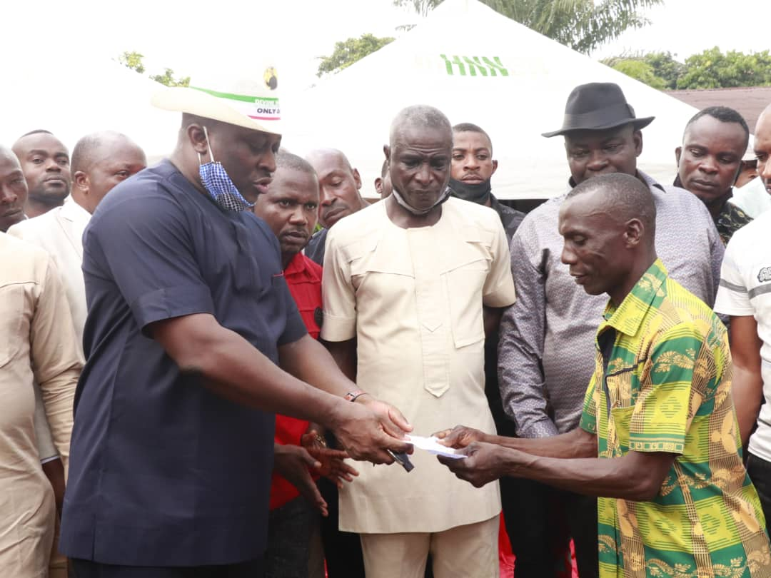 Photo of ENTREPRENEURS IN IKONO-INI RECEIVE ANOTHER 20 MILLION NAIRA BUSINESS GRANT FROM REP. UKPONG-UDO