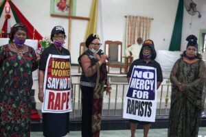 IKONO WOMEN TAKE CAMPAIGN AGAINST RAPE, EMOTIONAL ABUSE TO CHURCH