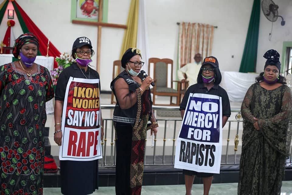 Photo of IKONO WOMEN TAKE CAMPAIGN AGAINST RAPE, EMOTIONAL ABUSE TO CHURCH