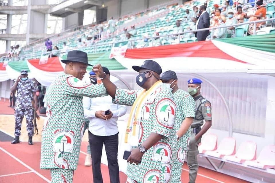 Photo of Ephraim Inyangeyen salutes former State PDP Chairman, congratulates Udo Ekpenyong