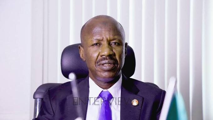 Photo of EFCC chair Magu detained