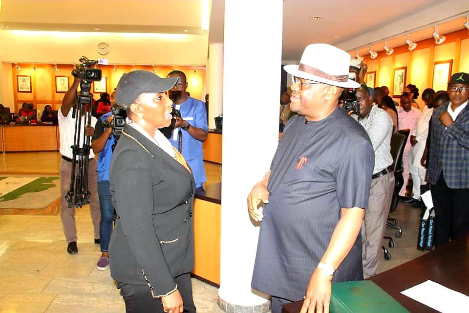 Photo of Wike rescues Joi Nunieh from police siege