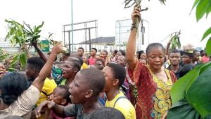 ANGRY MARKET WOMEN PROTEST UNDUE EXTORTION BY TICKET DEALERS