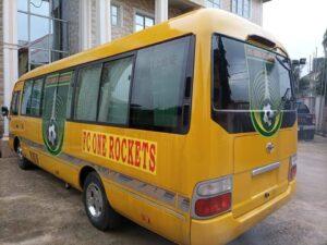 SPORT: FC ONE ROCKET ACQUIRE NEW BUS AHEAD OF NEW NNL SEASON