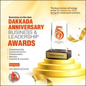 #DakkadaAt5: Akwa Ibom marks 5th Anniversary of Dakkada with a $1,000 Business & Leadership Awards each.