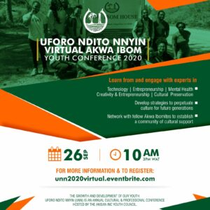 #UNN2020: Akwa Ibom Youth in Diaspora Organises a One-day Virtual conference.