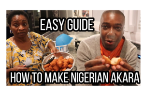 VIDEO: How to make Nigerian Akara (Bean cake) with a blender| Easy Steps for Nigerian food Beginners