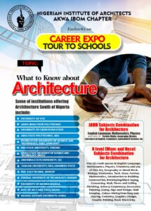 CAREER COUNSELLING FOR STUDENTS BY THE NIGERIAN INSTITUTE OF ARCHITECTS, AKWA IBOM STATE CHAPTER