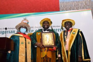 ENGR. ENANG CONFERRED FELLOW BY NIGERIAN SOCIETY OF ENGINEERS